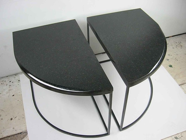 2 Part Curved End Tables