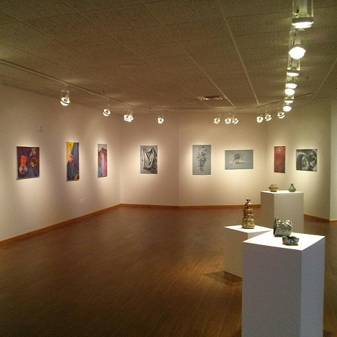 Visual Art's Graduating Class Exhibition - Inasmuch Foundation Gallery, Oklahoma City, OK