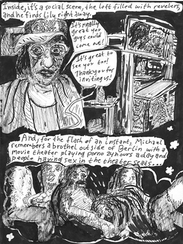 Envy the Dead, Uncompleted Graphic Novel Manuscript, Page 38