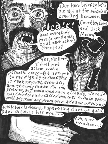 Envy the Dead, Uncompleted Graphic Novel Manuscript, Page 34