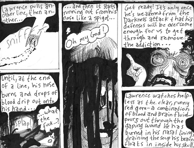 Envy the Dead, Uncompleted Graphic Novel Manuscript, Page 152