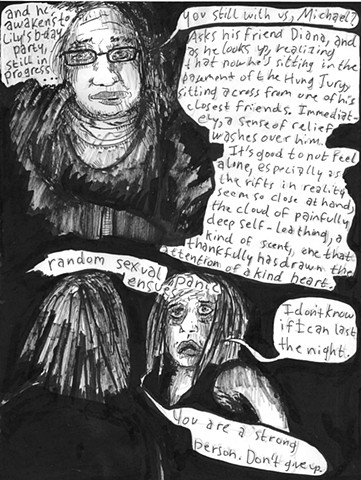 Envy the Dead, Uncompleted Graphic Novel Manuscript, Page 39