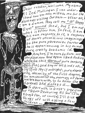 Envy the Dead, Uncompleted Graphic Novel Manuscript, Page 25