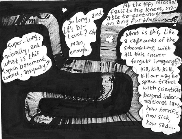 Envy the Dead, Uncompleted Graphic Novel Manuscript, Page 100