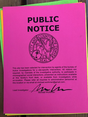 "Video Documentation of ""Public Notice"" Signing at the 48 Hours Summit of Socially-Engaged Art, 2018"