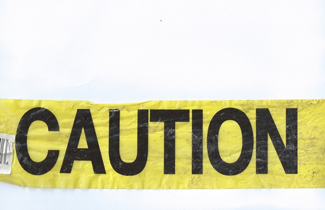 Caution Tape Retrieved from the Site
