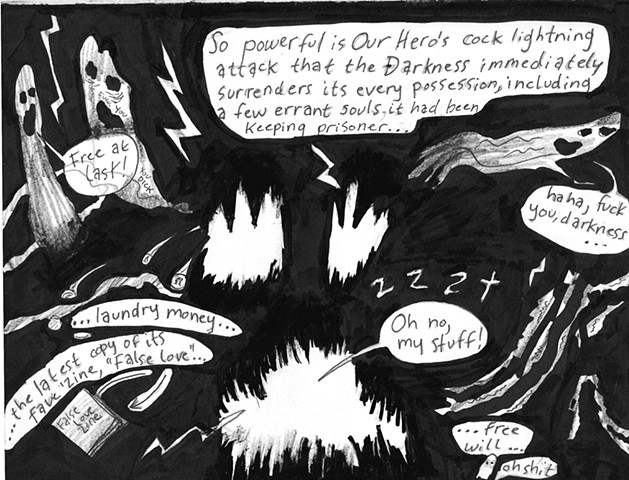 Envy the Dead, Uncompleted Graphic Novel Manuscript, Page 108