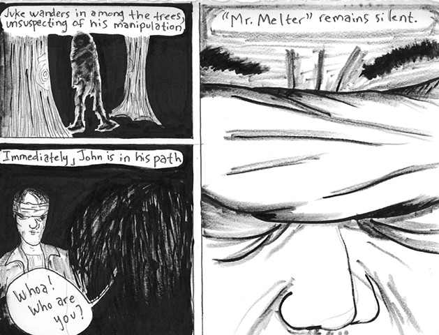 Envy the Dead, Uncompleted Graphic Novel Manuscript, Page 168