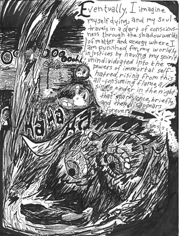 Envy the Dead, Uncompleted Graphic Novel Manuscript, Page 2