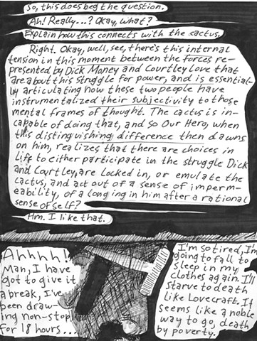 Envy the Dead, Uncompleted Graphic Novel Manuscript, Page 36