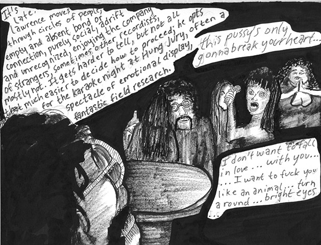 Envy the Dead, Uncompleted Graphic Novel Manuscript, Page 124