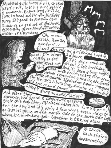 Envy the Dead, Uncompleted Graphic Novel Manuscript, Page 37