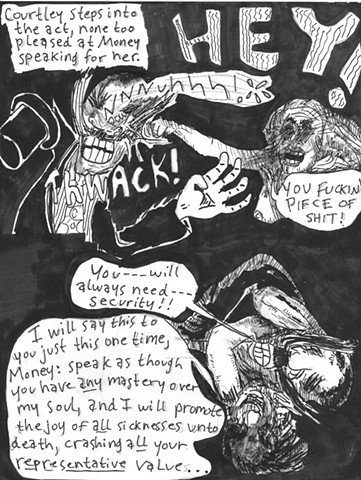 Envy the Dead, Uncompleted Graphic Novel Manuscript, Page 31