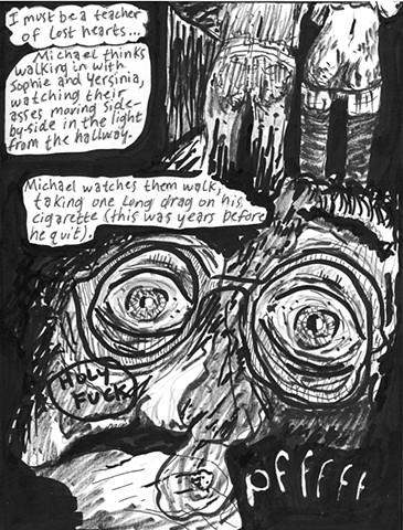 Envy the Dead, Uncompleted Graphic Novel Manuscript, Page 79