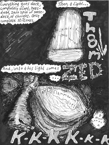 Envy the Dead, Uncompleted Graphic Novel Manuscript, Page 24