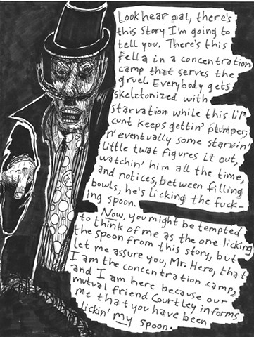 Envy the Dead, Uncompleted Graphic Novel Manuscript, Page 30