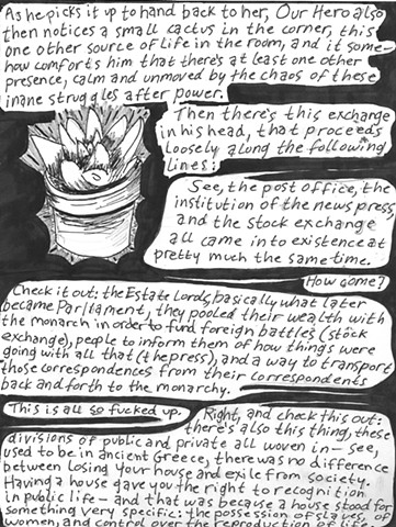 Envy the Dead, Uncompleted Graphic Novel Manuscript, Page 35
