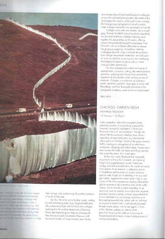 Contemporary Magazine, Nathanial Rackowe Review, Part 1