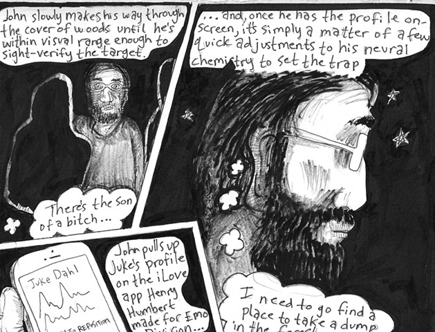 Envy the Dead, Uncompleted Graphic Novel Manuscript, Page 167