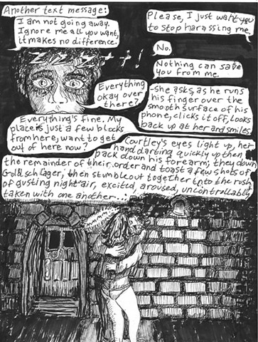 Envy the Dead, Uncompleted Graphic Novel Manuscript, Page 16