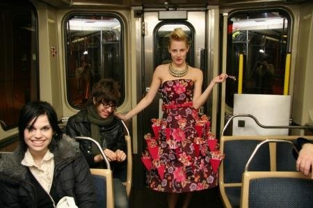 Photo documentation of Nova CTA Fashion Train