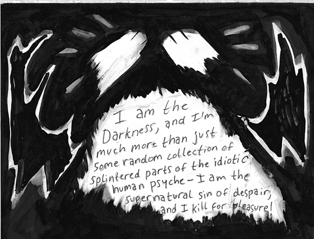 Envy the Dead, Uncompleted Graphic Novel Manuscript, Page 95