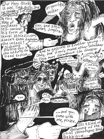 Envy the Dead, Uncompleted Graphic Novel Manuscript, Page 47