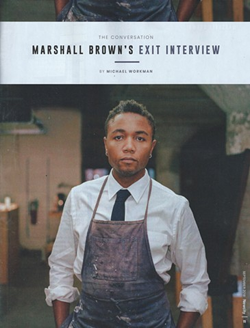 Newcity, The Conversation: Marshall Brown.