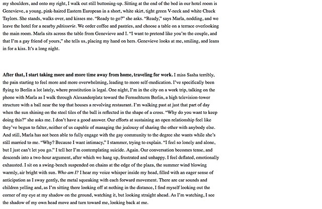 Crazy Love: Memoirs of a Marriage Gone Queer, Newcity, Page 10