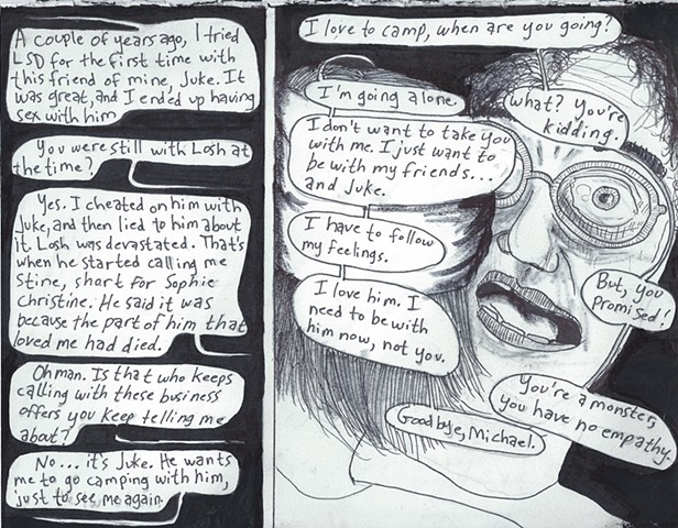 Envy the Dead, Uncompleted Graphic Novel Manuscript, Page 71