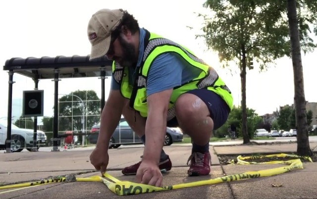 Video Documentation of Jackson & Homan Plaza Chicago Dept. of Transportation Commissioned Performance 2018