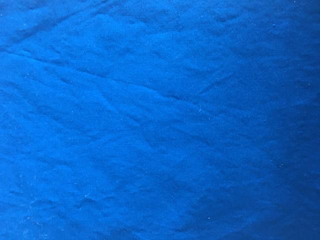 Royal blue solid 100% Kona cotton
