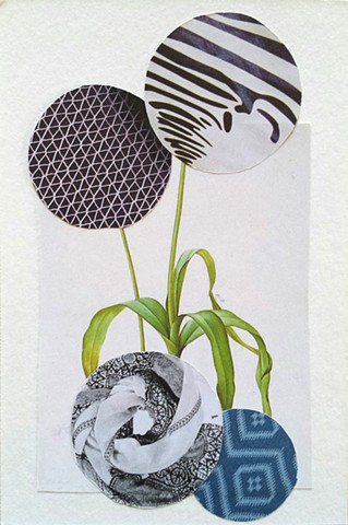 Dystopian Botanical Collage Terri Whetstone