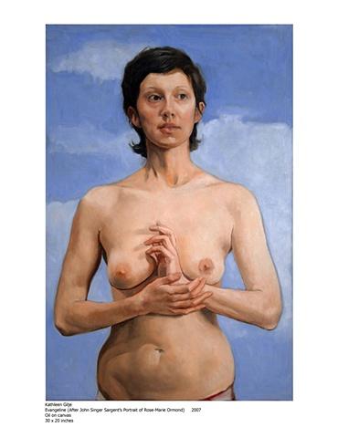Evangeline, 2008 30 x 20 inches