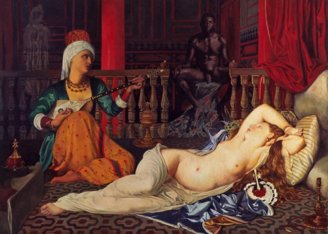 Odalisque with Slave, Restored
