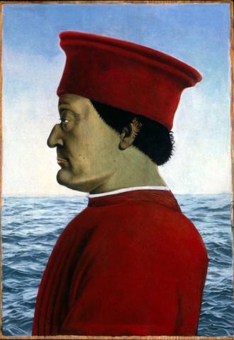 Federico Da Montefeltro, Restored (Diptych)