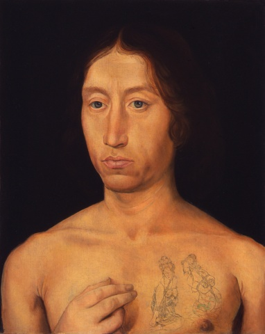 Portrait of a Young Man #1, Restored