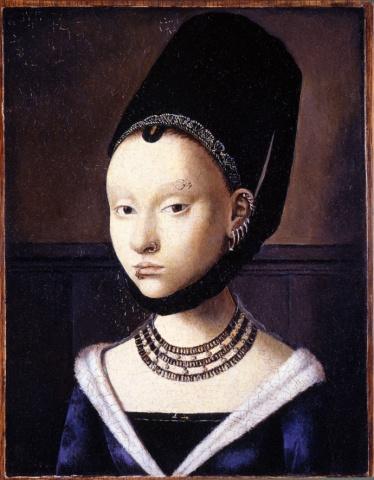 Portrait of a Lady, Restored (Pierced)