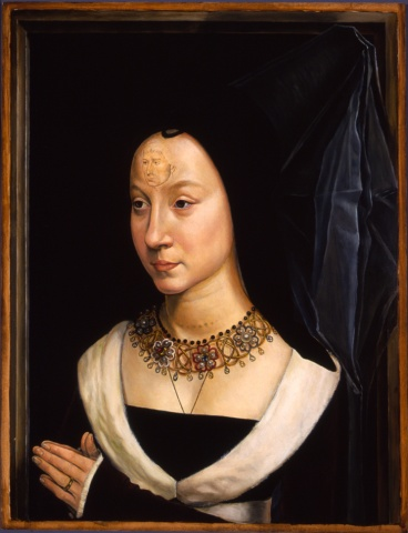Portrait of Maria Baroncelli Portinari, Restored