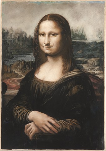 Mona Lisa, L.H.O.O.Q , Restored