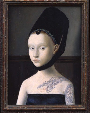 Portrait of a Lady #3, Restored