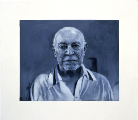 William Rubin as Picasso Photographed by Cartier- Bresson