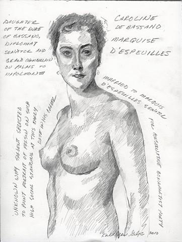 Caroline De Bassano Marquise D'espeuilles