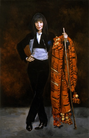 Roselee Goldberg as Lo Majo (Dresses in Spanish Costume After Manet)