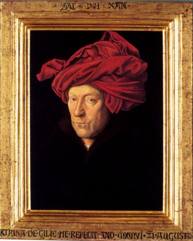 Man in a Red Turban, Restored
