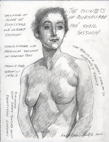 The Countess of Rocksavage, Nee Sybil Sassoon