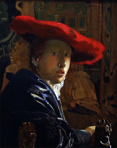The Girl with a Red Hat Restored