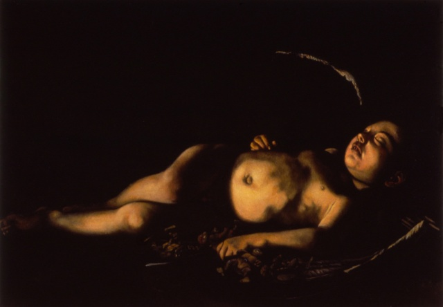 Sleeping Cupid, Restored