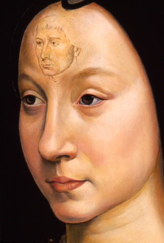 Portrait of Maria Baroncelli Portinari, Restored  (Detail)