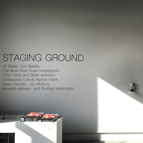 La Esquina Gallery: Staging Ground